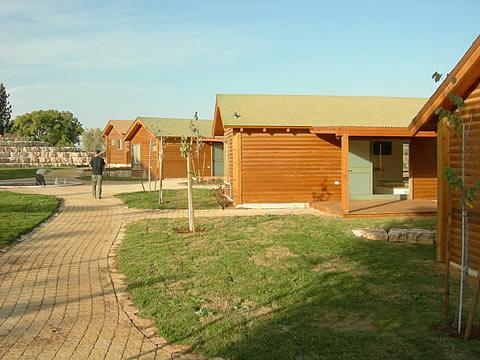 בתים מעץ צימרים באילניה