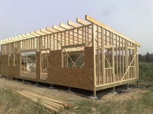בניית בית מעץ