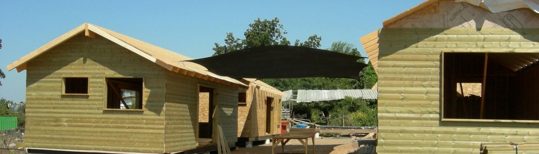 בניית בתים וצימרים מעץ חברת אלונים בתי עץ