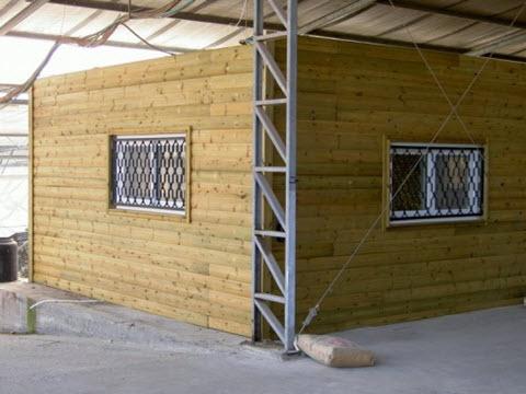 מבנה נייד - מכולה - אלונים בתי עץ