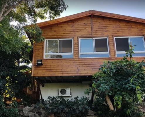 בניית בית מעץ לפיני רז
