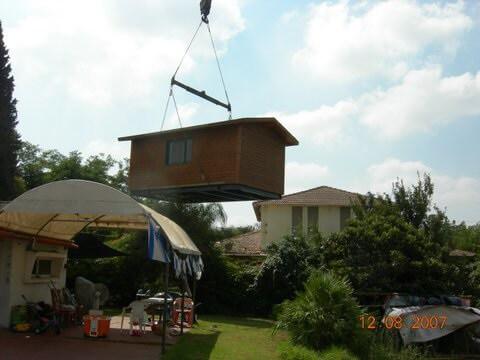 בניית צימרים - מבנה נייד
