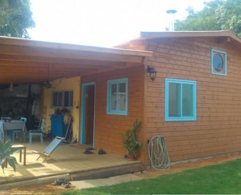 תוספות בניה מעץ לבית פרטי