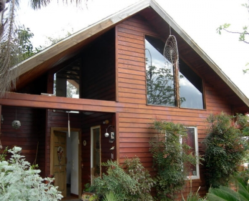 בית עץ בנוי