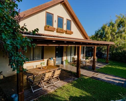 בית פדן - תוספת בניה מעץ לבית