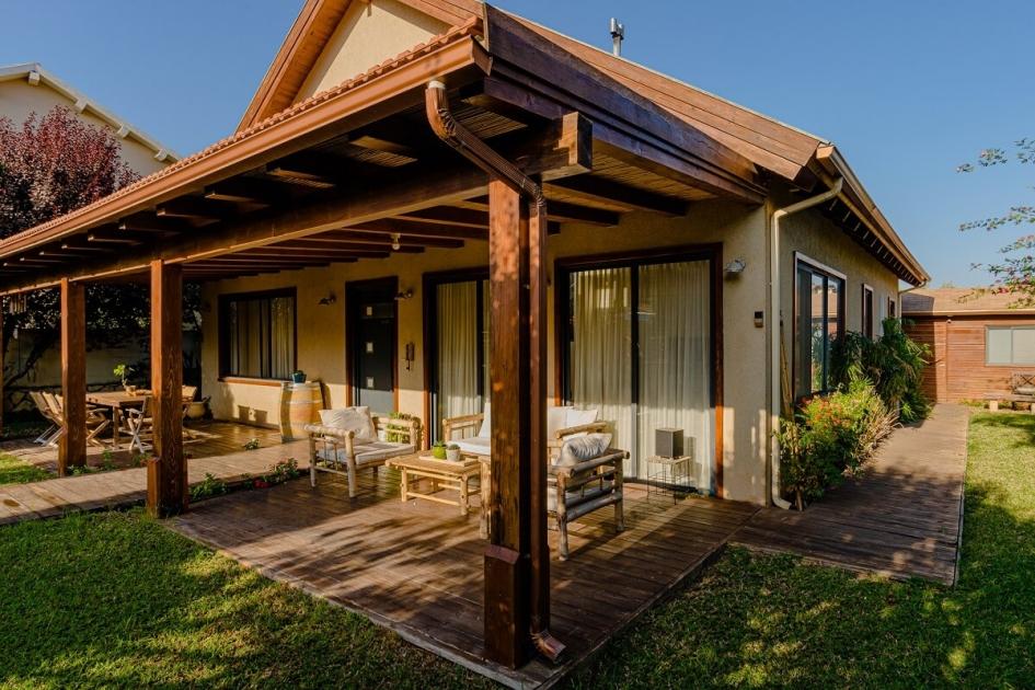 בית פדן - בית מעץ