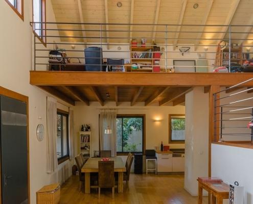 בית פדן - בניית דק בבית