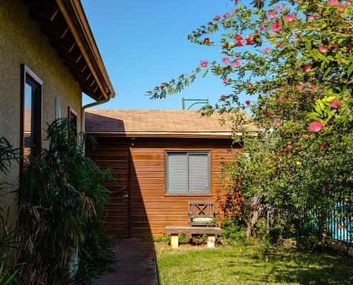 בית פדן - תוספות בניה מעץ לחצר